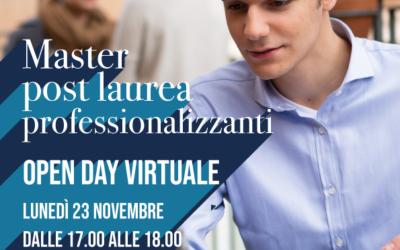 """Open Day virtuali per il Master """"Risorse Umane e organizzazione aziendale"""""""